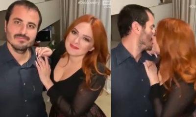 nicole e marco matrimonio a prima vista bacio