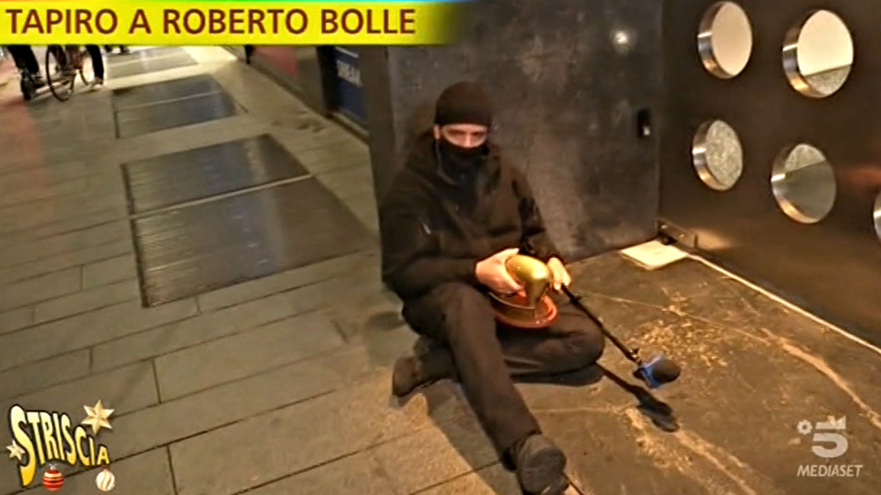 striscia la notizia incidente valerio staffelli roberto bolle