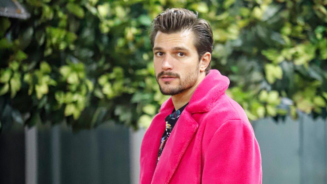 zelletta con cappotto rosa