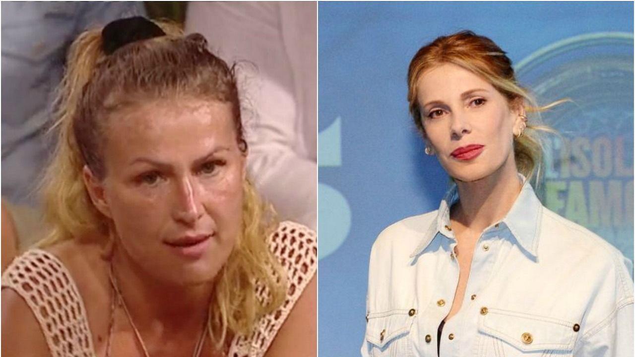 Eva Henger, Alessia Marcuzzi: altre scintille