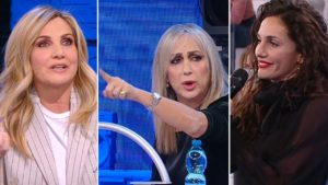 """Cuccarini contro Celentano ad Amici: """"Bullismo"""", Maria difende Elena"""
