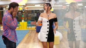 GF Vip, Giulia Salemi vestito bianco e nero Balmain: dove è finito dopo la puntata