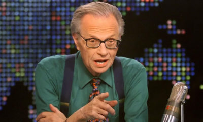 larry king camicia verde