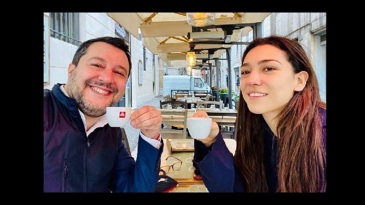 Salvini, caffè Verdini