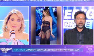 Antonella Elia difesa da Barbara D'Urso