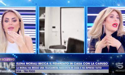 favoloso tradisce Elena Morali con paola Caruso