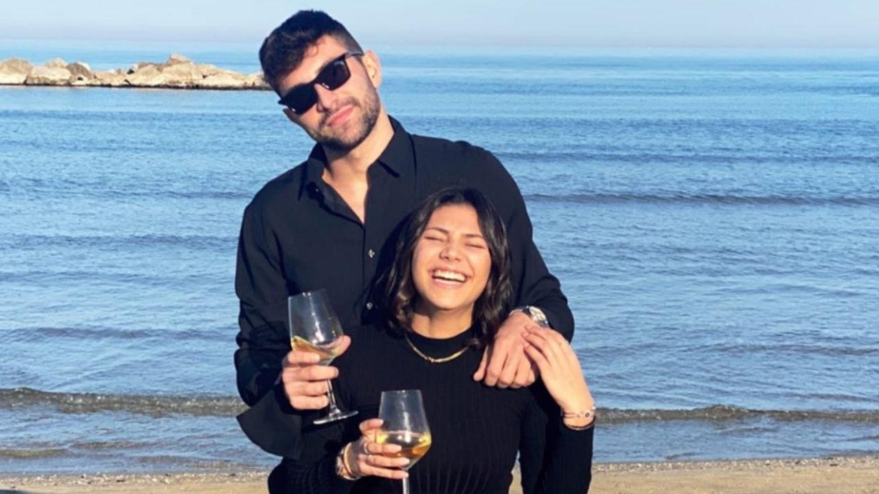 beatrice e giorgio foto al mare