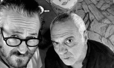 giorgio panariello e marco giallini selfie