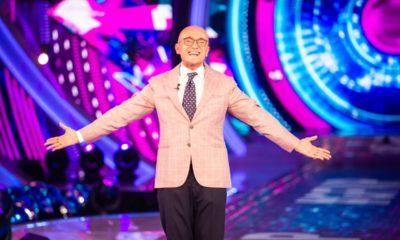 giacca rosa alfonso signorini, cast GF Vip 6