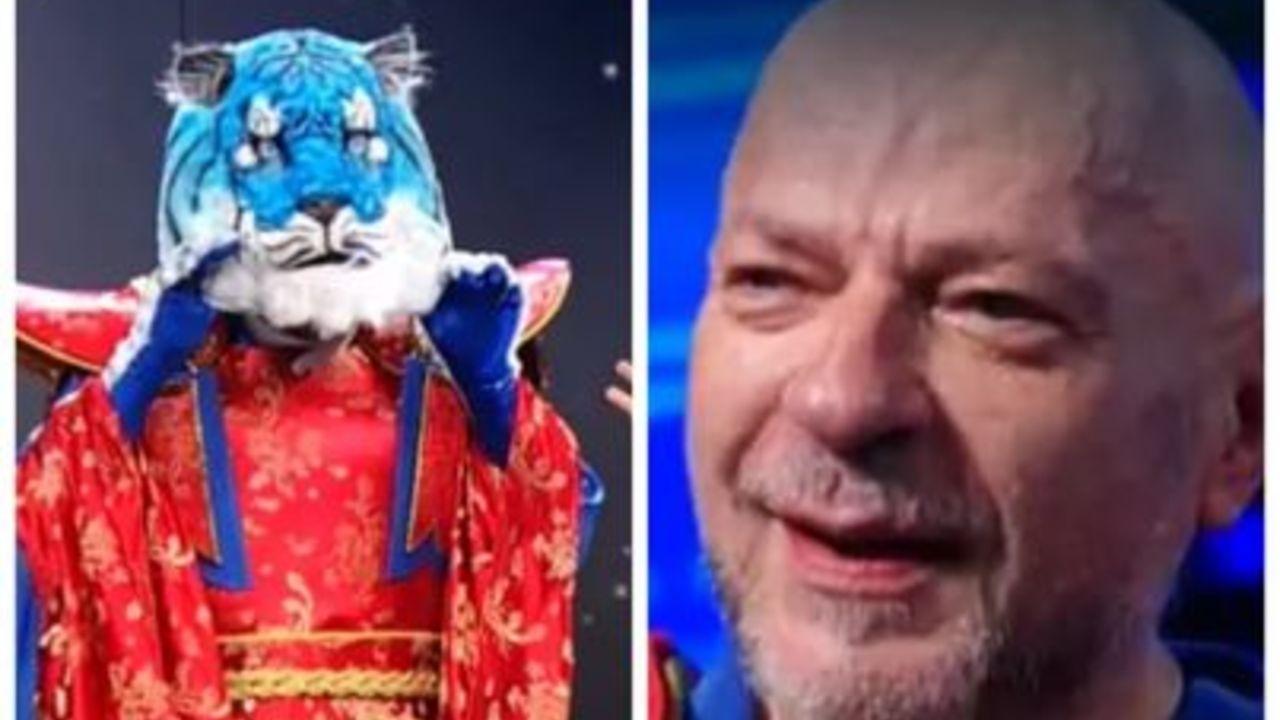 il cantante mascherato la tigre azzurra platinette