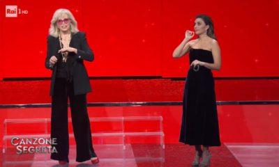 Amanda Lear e Serena Rossi su Rai Uno