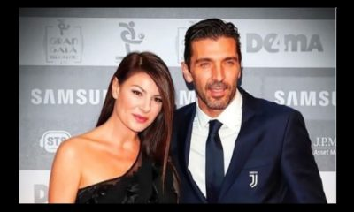 Ilaria D'amico insieme a Gigi Buffon