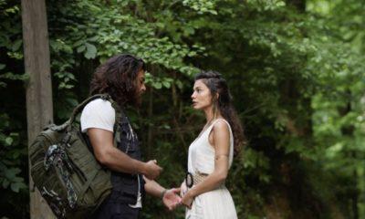 Can e Sanem discutono nella foresta