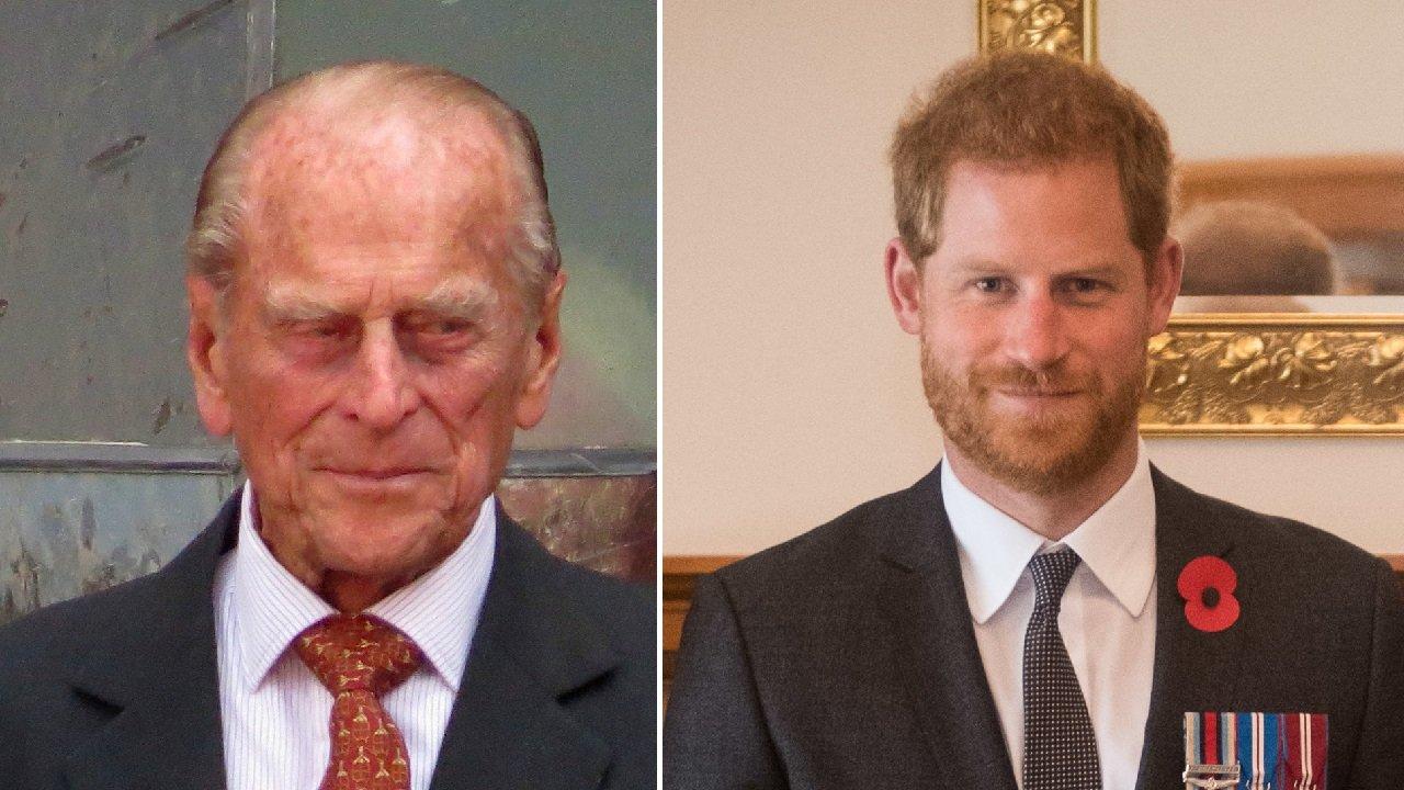 Harry torna a Londra dal nonno