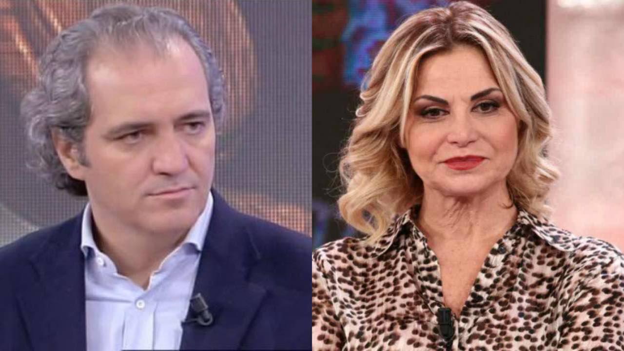 Simona Ventura covid Giovanni Terzi malattia polmoni