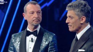 Ascolti Sanremo seconda serata, Amadeus cala: share più basso dal 2016