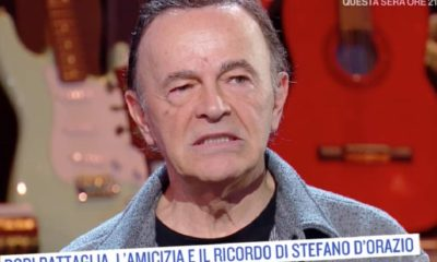 Dodi Battaglia su Stefano D'Orazio