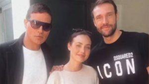 Gabriel Garko con Zenga e Rosalinda: le parole dell'attore