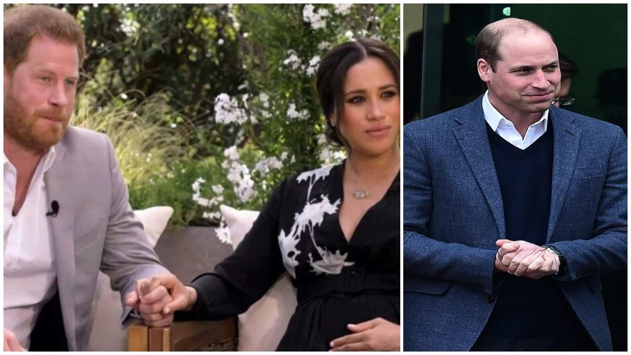 harry, meghan e il principe william