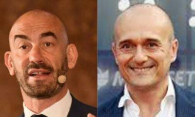 Matteo Bassetti insieme ad Alfonso Signorini