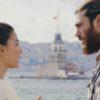Can e Sanem davanti la Torre di Leandro