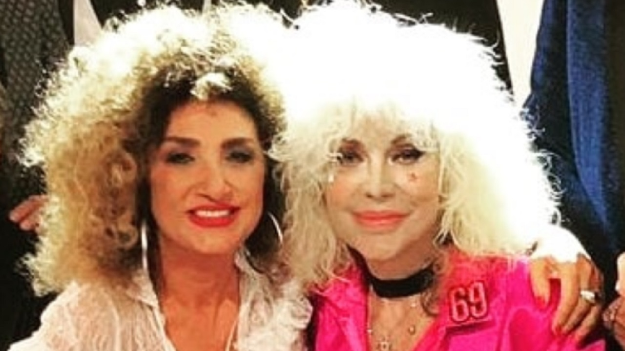 Donatella Rettore e Marcella Bella a Verissimo