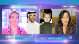 Domenica Live, Manuela Arcuri: silenzio rotto sull'ex Al Habtoor e su Mauro Romano