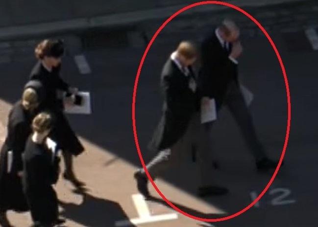 Harry e William, funerale