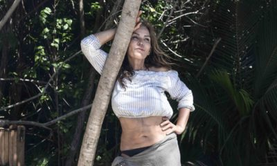 isola dei famosi fariba tra alberi