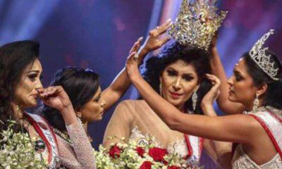 miss mondo strappa la corona a miss sri lanka