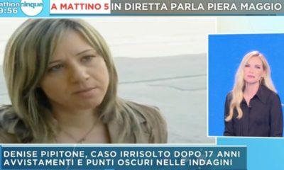 mattino 5 Denise Pipitone Piera Maggio panicucci