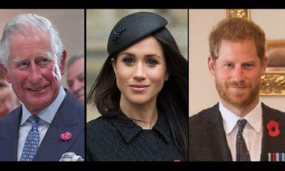 Carlo contro Harry e Meghan