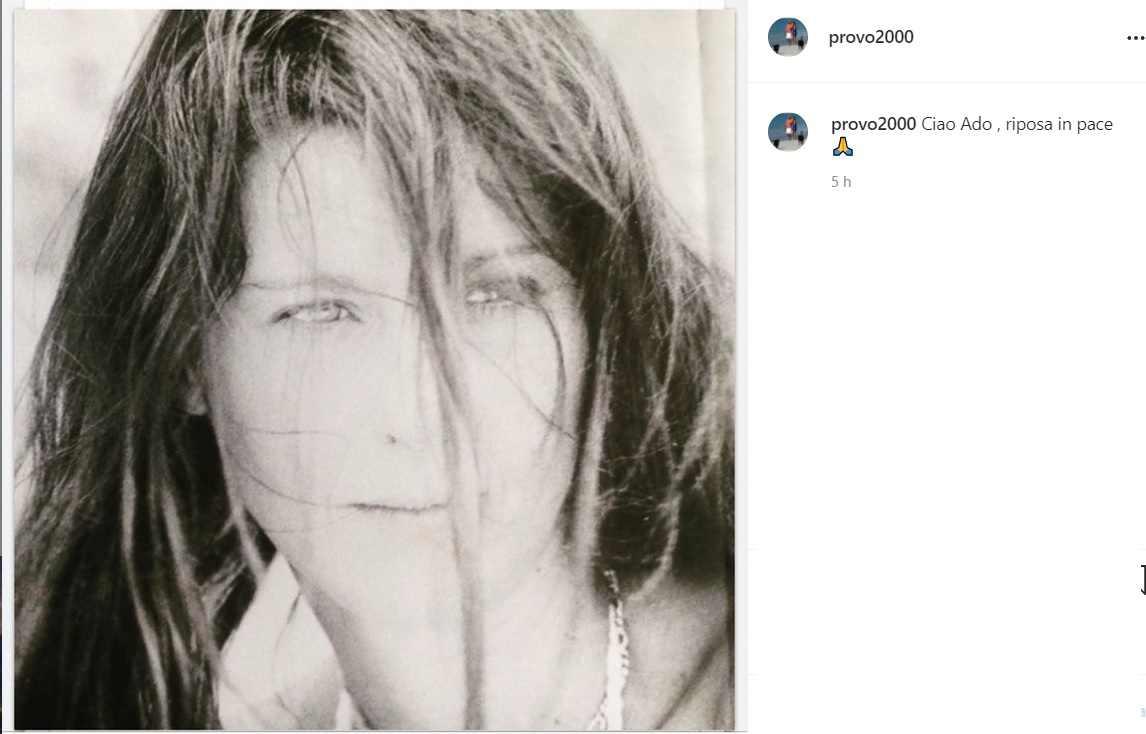 Adonella ex moglie di Carraro