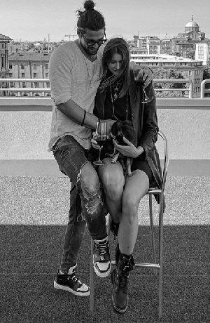 Luca e Ivana in love