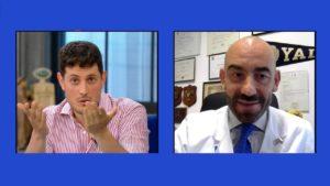 Rai Uno, fuori programma sulle spasimanti di Bassetti: lui risponde così