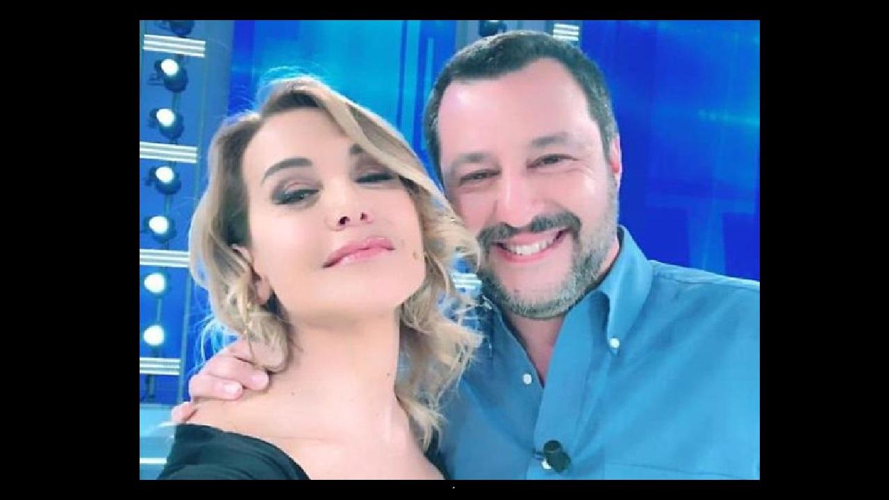 Salvini a Domenica Live