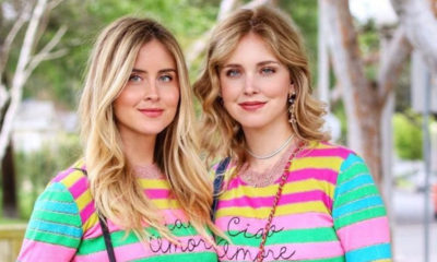 sorelle ferragni foto maglioncino colorato