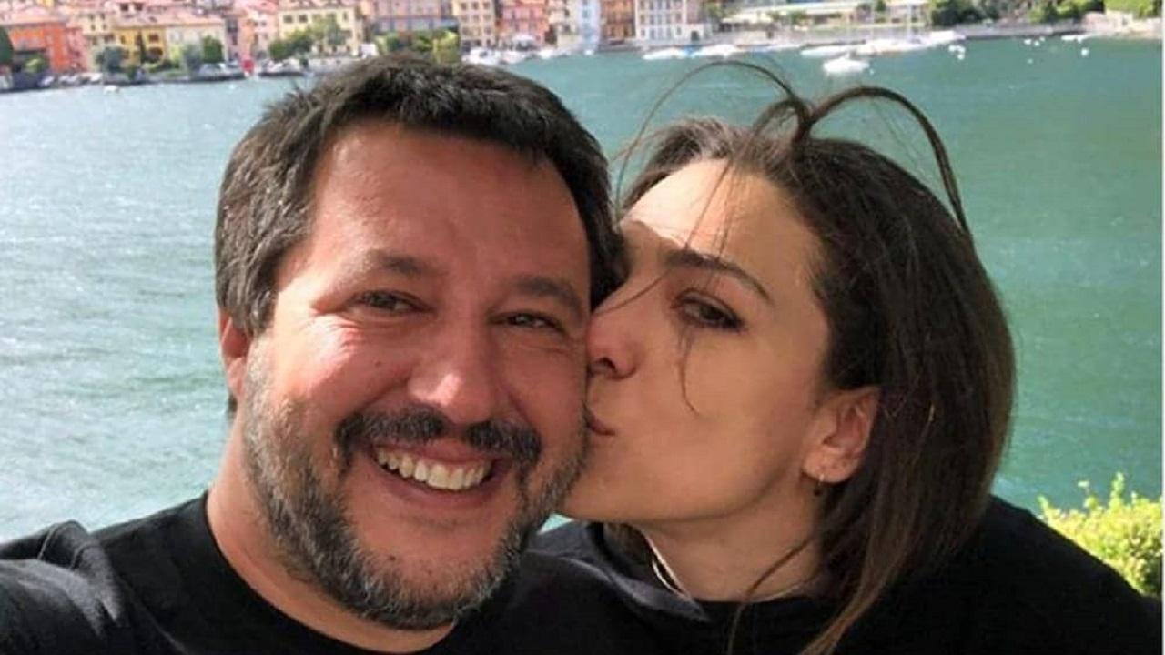 Salvini e il matrimonio con la Verdini
