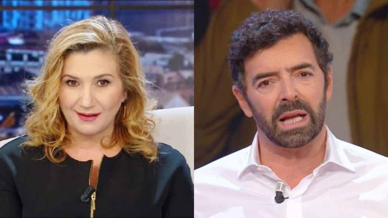 Alberto Matano Serena Bortone rivalità