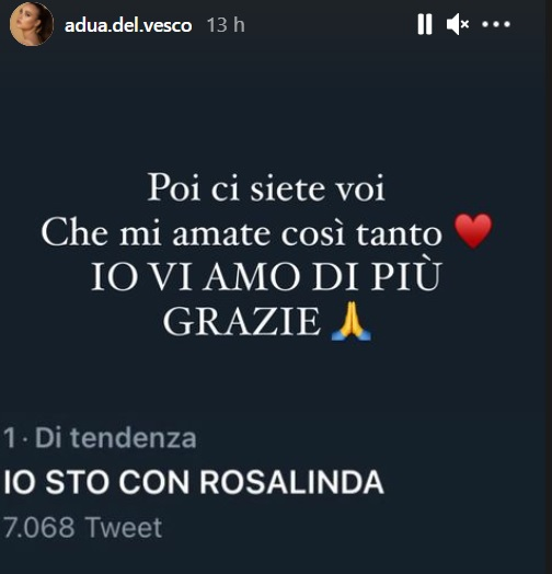 Adusa Del vesco Twitter