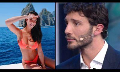 Stefano e Paola in barca