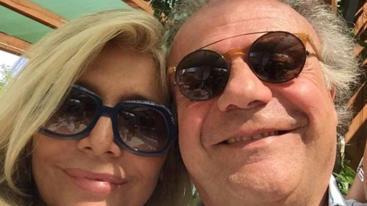 Mara Venier insieme a Jerry Calà