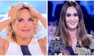 Barbara d'Urso e Silvia Toffanin in tv