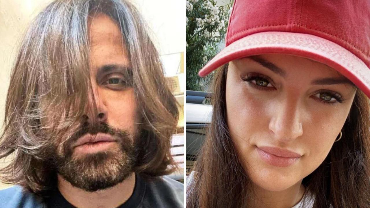 arisa col cappello e l'ex fidanzato