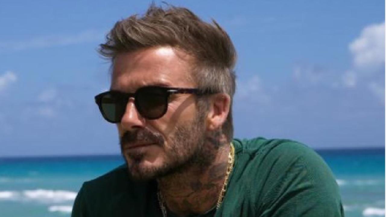 Beckham ad Amalfi