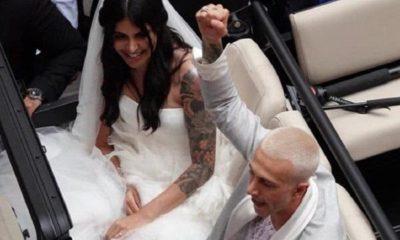 Bernardeschi e la festa di nozze con Veronica