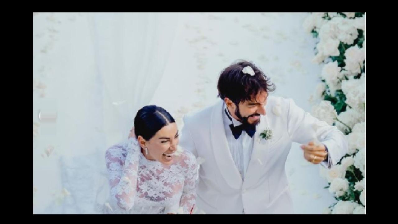 Giorgia Gabriele sposa