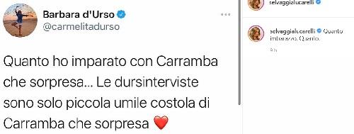 Lucarelli si scaglia contro Barbara d'Urso