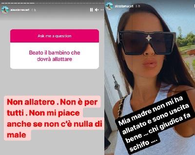Alessia macari sfogo