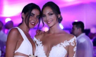 Veronica Ciardi al matrimonio di Sarah Nile